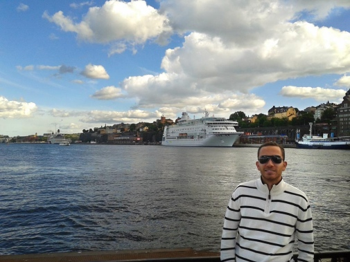 Brazilian student Manoel studied in Stockholm with the Science without Borders programme