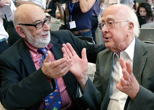 This year's Nobel Laureates in Physics - François Englert and Peter Higgs. Photo: CERN