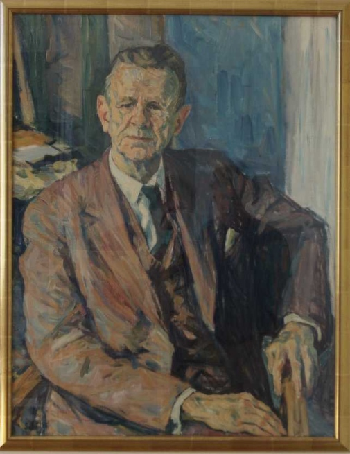 Portrait of Harald Cramér