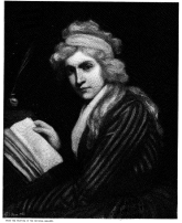 Mary Wollstonecraft, by John Opie, engraved by Timothy Cole