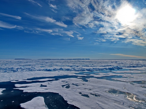 Beautiful view of the Arctic Ocean. Photo: M. Tjernström