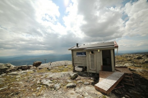 The research station on Mt Åreskutan, Åre, Sweden. Photo: Stella Papadopoulou