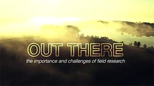 """Out there – the importance and challenges of field research"""