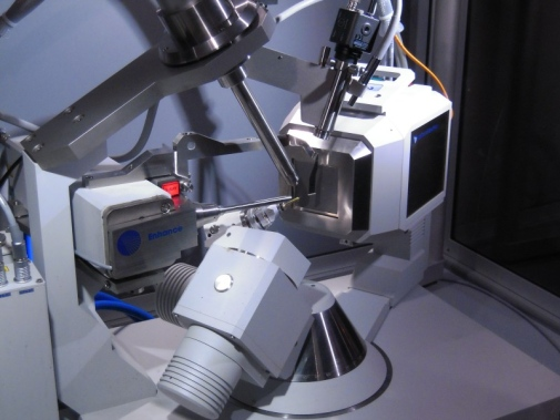 Single Crystal diffractometer Xcalibur-III, one of our facilities.
