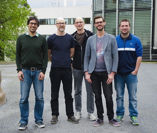From left to right: Rahman Amanullah, Jesper Sollerman, Ariel Goobar, Joel Johansson, Francesco Taddia. Photo: Maja Garde