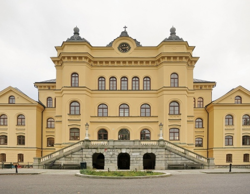 Konradsberg. Törnqvist's palace-like mental hospital building, rebuilt for academic use, was the first home of the Department of Child and y outh Studies. (Photo: Mats Danielson)