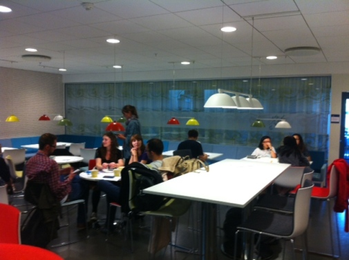 "A first ""fika"" in Studenthuset."