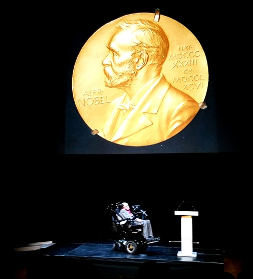"""If some researchers would find a black hole, I will get a Nobel Prize"", Stephen Hawking noted.."
