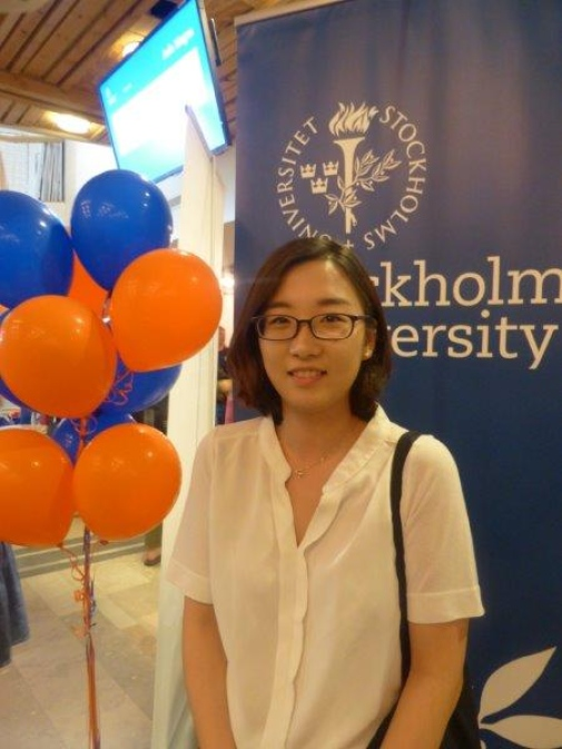 German student Enchae Lee attended Orientation Day