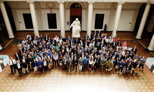 Participants at the symposium in Santiago de Chile, December 2018. Photo: Stockholm University